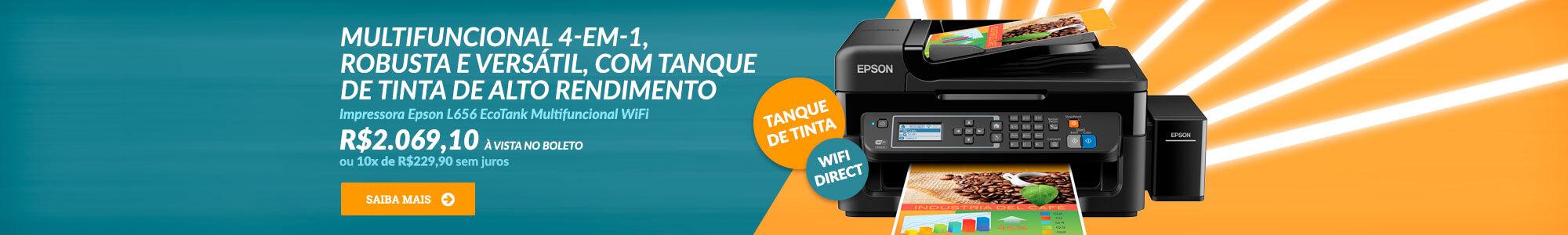 Epson L656 - R$2299