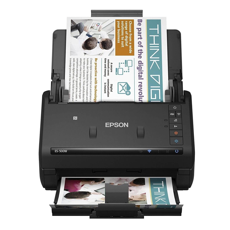scanner epson es 500w workforce wi fi. Black Bedroom Furniture Sets. Home Design Ideas