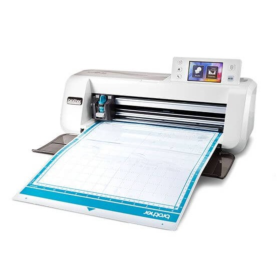 Artesanato Locatelli ~ Máquina de Recorte ScanNCut Brother CM300 BR Impressora com
