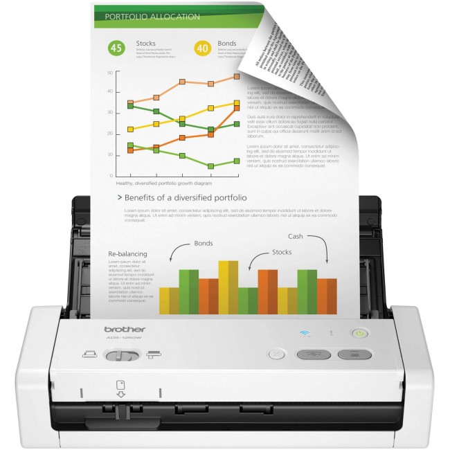 Scanner Brother ADS-1250W Portátil WiFi