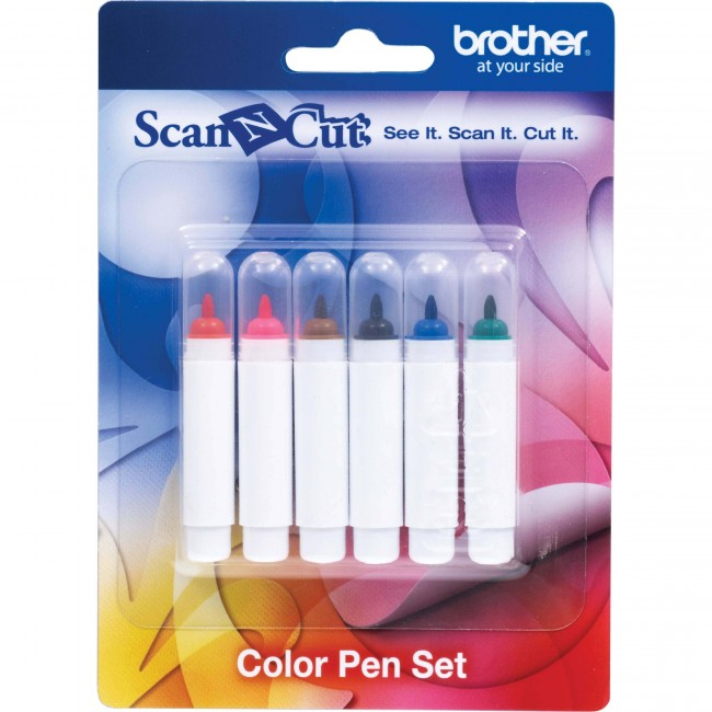 Canetas Coloridas com Tinta Permanente CAPEN1 p/ Brother CM500BR CM650W