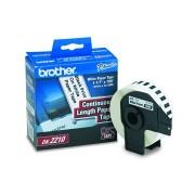 Etiqueta Brother 29mmx30,48m DK-2210