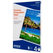 Papel Especial Premium Presentation Matte Carta Epson 50 Folhas 167g