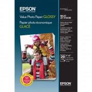 Papel Fotográfico Photo Paper Glossy 10x15cm Epson 20 Folhas 183g