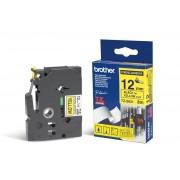 Fita Rotulador Brother 12mm TZ-S631 Preto/Amarelo