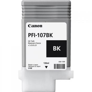 Cartucho Plotter Canon PFI 107 BK Preto