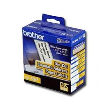 Etiqueta Brother 29mmx90mm DK-1201 Pré Cortada