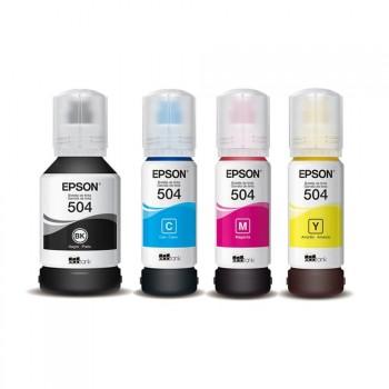Kit Refis de Tinta Epson 504 T504